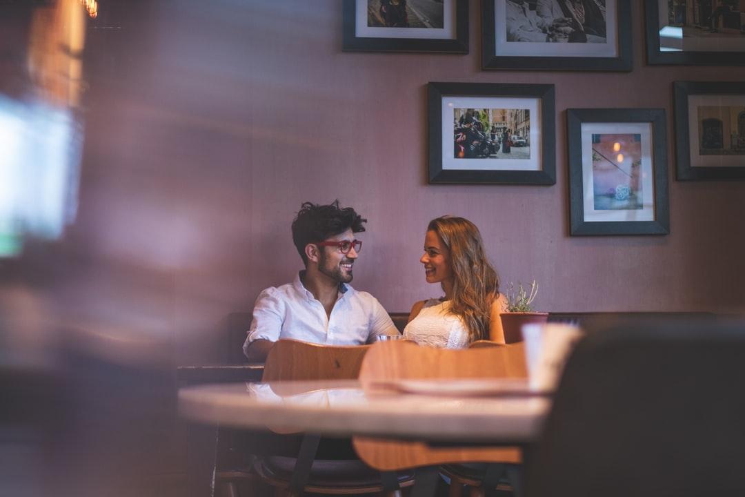 couple talking